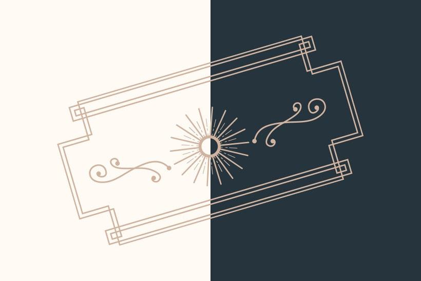 The Garrison: Mi Proyecto de diseño de un logotipo icónico 7