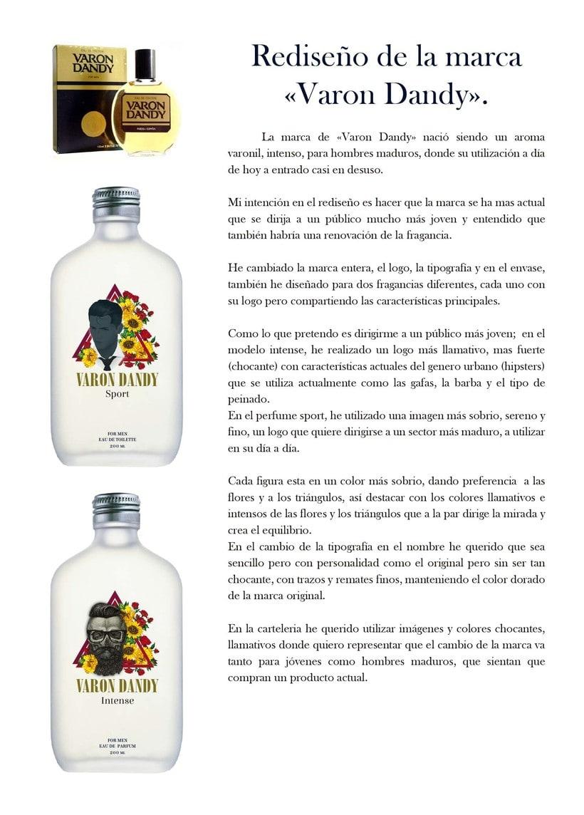 Proyecto rediseño de la marca Varon Dandy 3