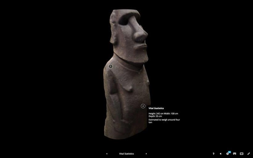 Más de 200 obras de arte del British Museum en 3D  8