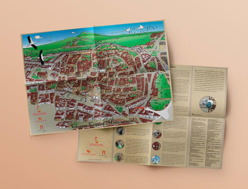 Planos urbanos turísticos / Tourist maps 1