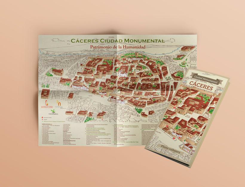 Planos urbanos turísticos / Tourist maps 2