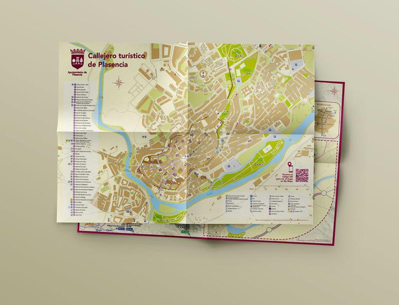 Planos urbanos turísticos / Tourist maps 3