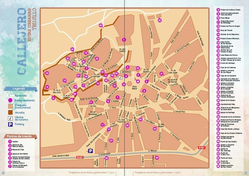 Planos urbanos turísticos / Tourist maps 4