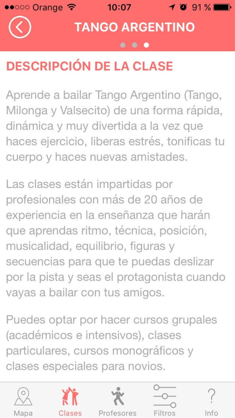 "Diseño de App ""Tus Clases de Baile"" 26"