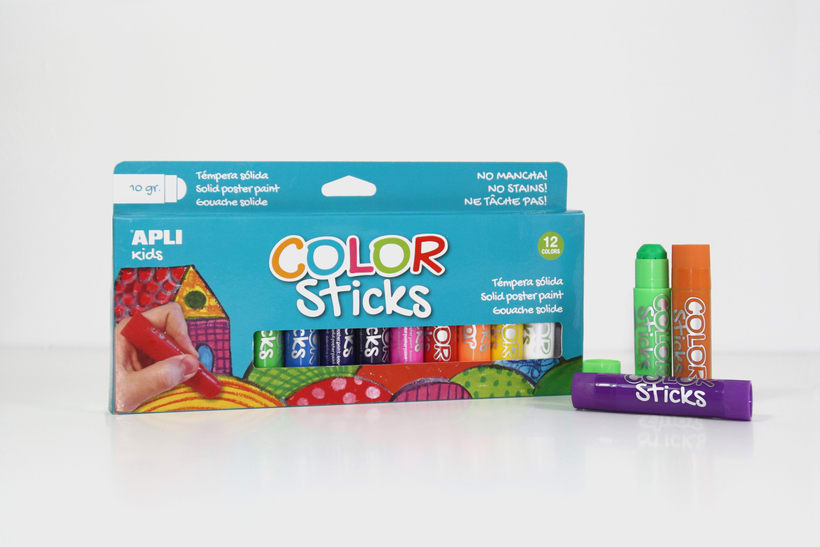 Color Sticks. Apli | GRAPHIC DESIGN & PACKAGING 0