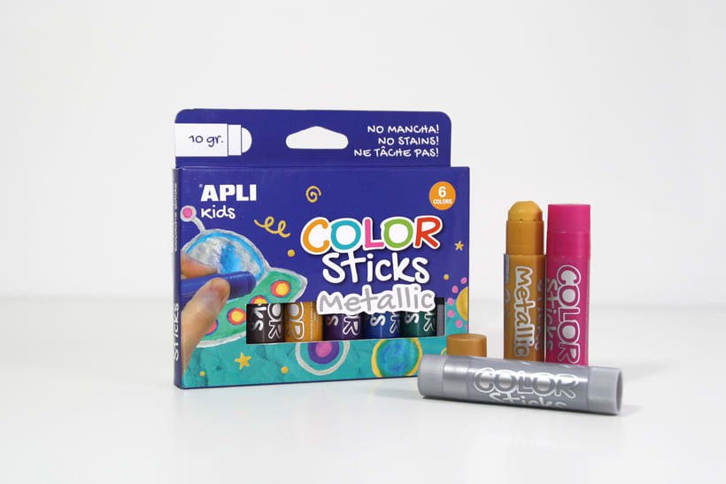Color Sticks. Apli | GRAPHIC DESIGN & PACKAGING 1