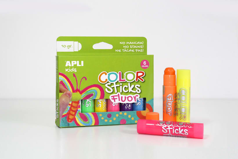 Color Sticks. Apli | GRAPHIC DESIGN & PACKAGING 2