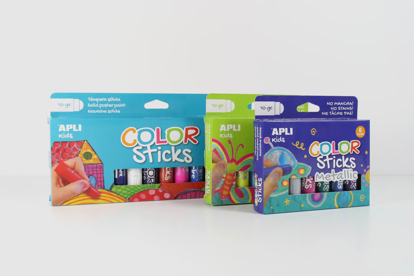 Color Sticks. Apli | GRAPHIC DESIGN & PACKAGING 3
