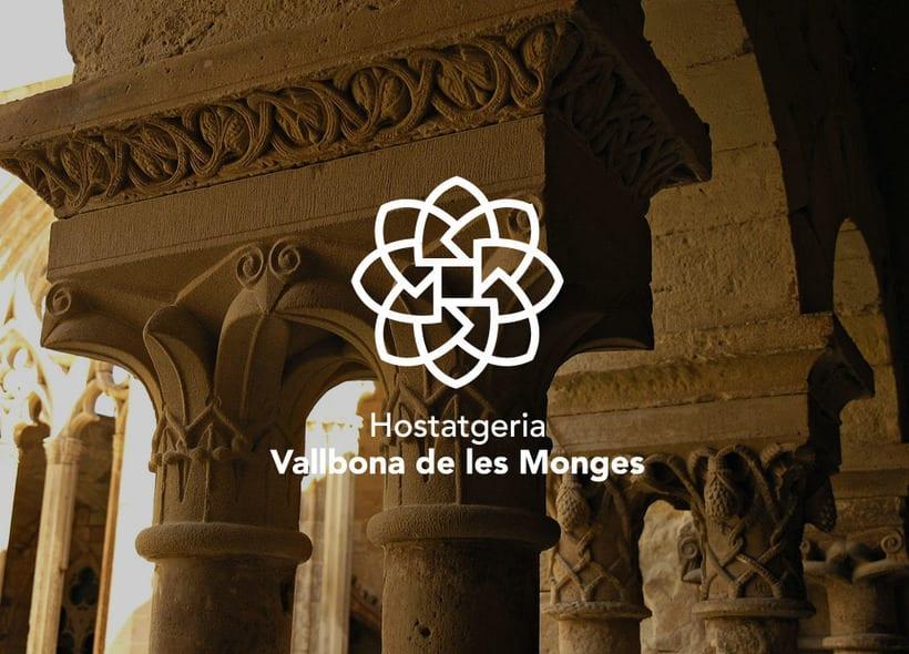 Hostatgeria Vallbona de les Monges | Branding -1