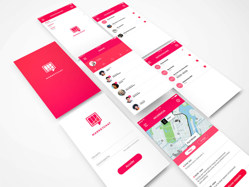 Marketchat | UI concept  0