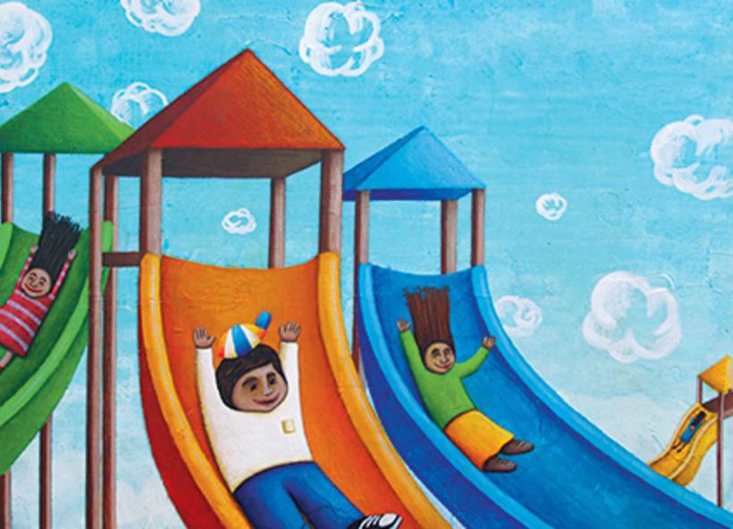 """""""Curious Sameer"""" serie ilustrada del libros para niños (edad: 3/6 años) 1"""