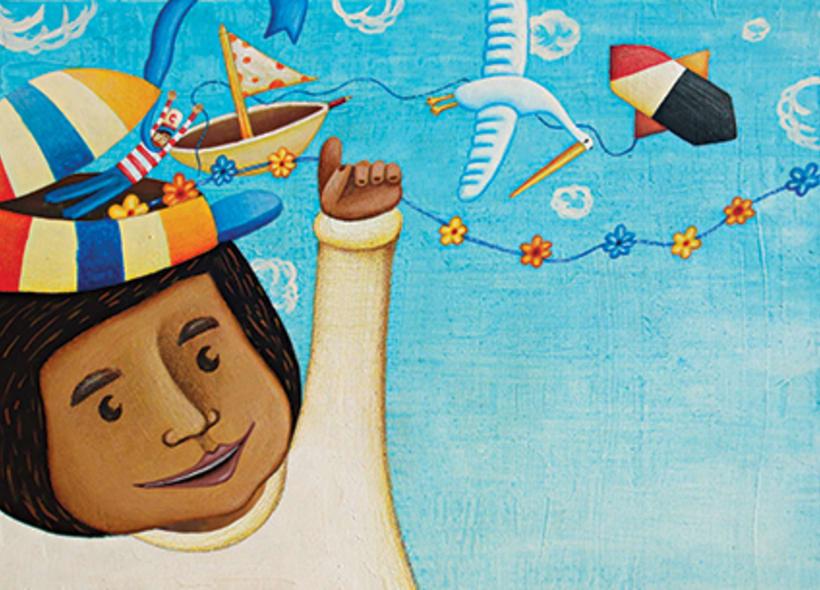 """""""Curious Sameer"""" serie ilustrada del libros para niños (edad: 3/6 años) 4"""