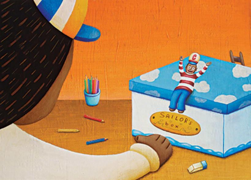 """""""Curious Sameer"""" serie ilustrada del libros para niños (edad: 3/6 años) 5"""
