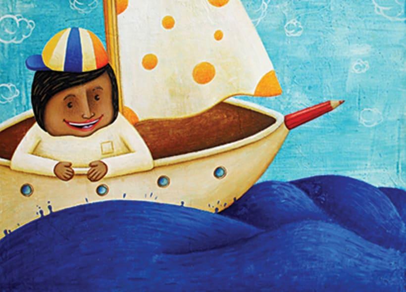 """""""Curious Sameer"""" serie ilustrada del libros para niños (edad: 3/6 años) 7"""