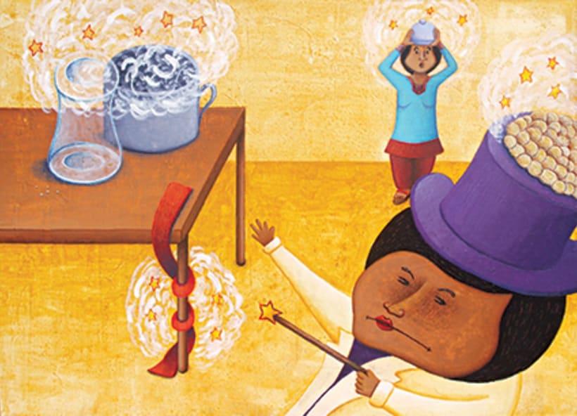 """""""Curious Sameer"""" serie ilustrada del libros para niños (edad: 3/6 años) 9"""
