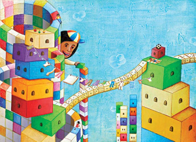 """""""Curious Sameer"""" serie ilustrada del libros para niños (edad: 3/6 años) 11"""