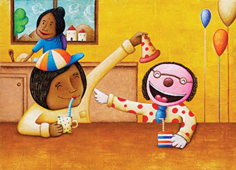 """""""Curious Sameer"""" serie ilustrada del libros para niños (edad: 3/6 años) 14"""