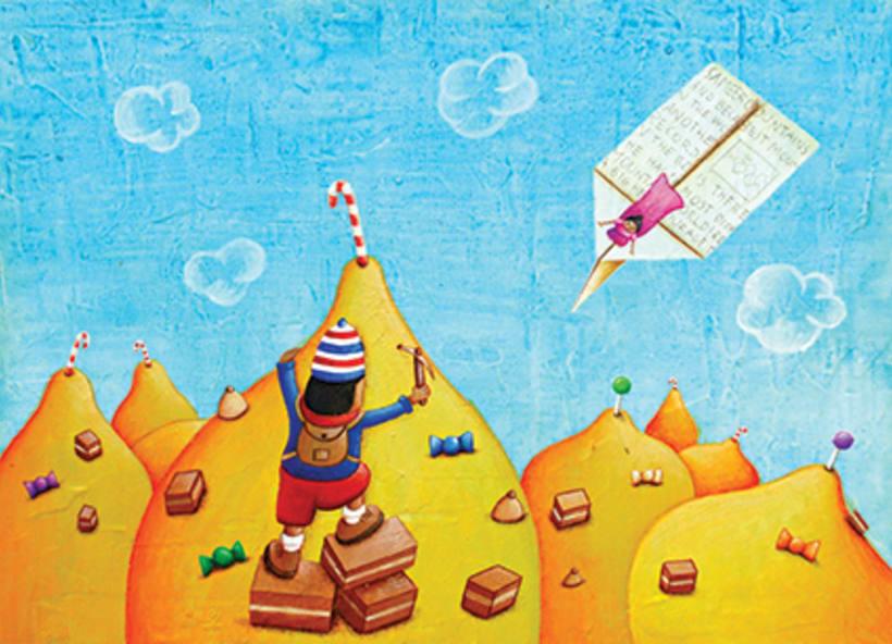 """""""Curious Sameer"""" serie ilustrada del libros para niños (edad: 3/6 años) 15"""