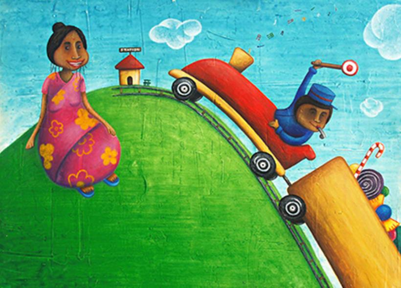 """""""Curious Sameer"""" serie ilustrada del libros para niños (edad: 3/6 años) 22"""
