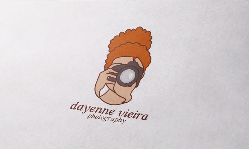 Dayenne Vieira Fotografia | Branding | Logotipo | Website 0