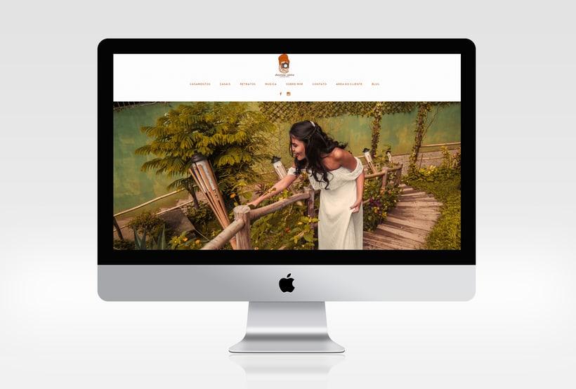 Dayenne Vieira Fotografia | Branding | Logotipo | Website 1