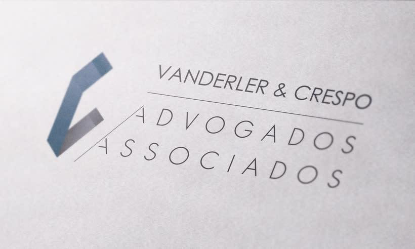VC Advogados Associados | Branding | Logotipo -1