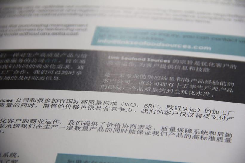 BRANDING | catalogo corporativo Lins seafood sources 3