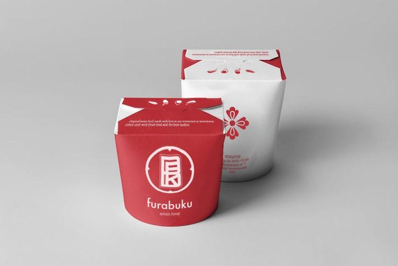 Furabuku | Diseño de monograma 3