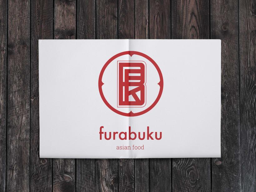 Furabuku | Diseño de monograma 1