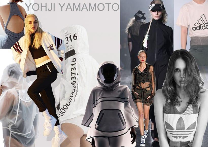 Fashion collectioAdidas Y-3.  0