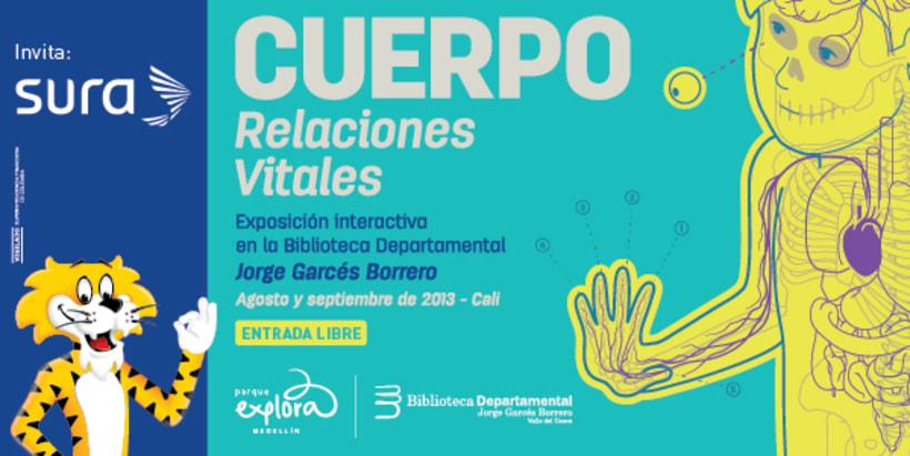 Exposición CUERPO - Explora Sura 0