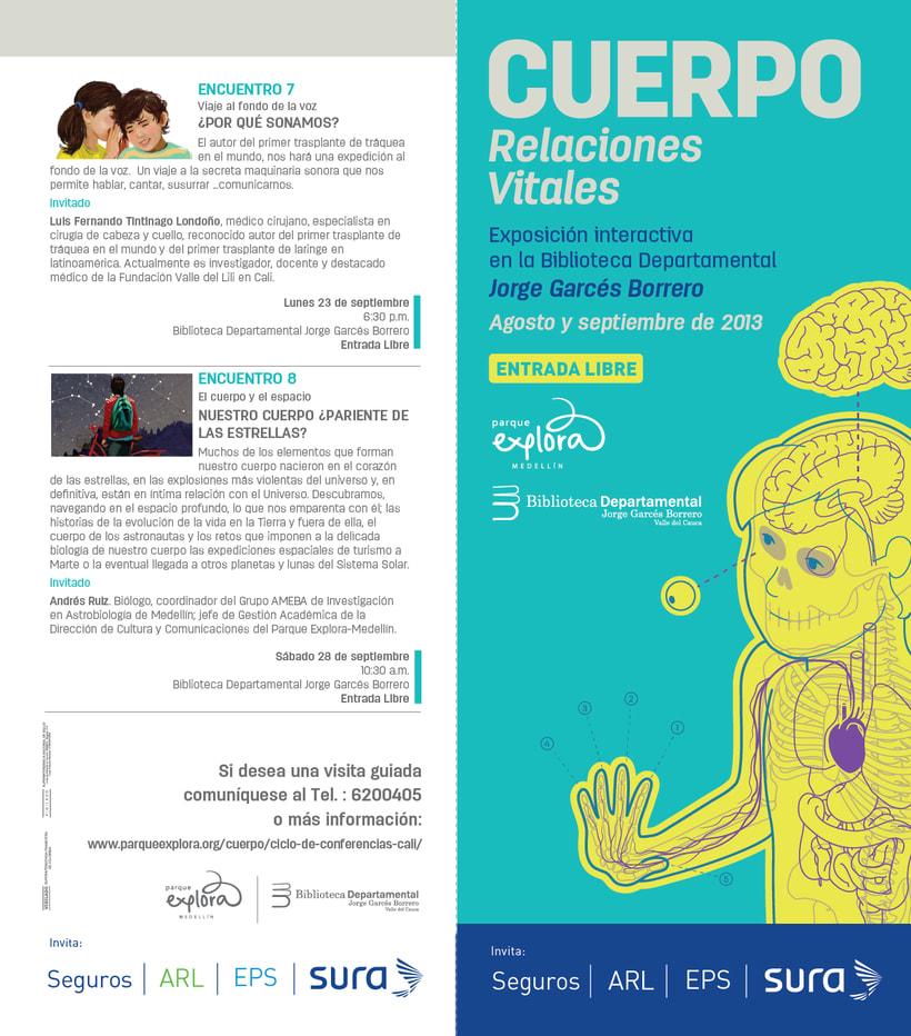 Exposición CUERPO - Explora Sura 1