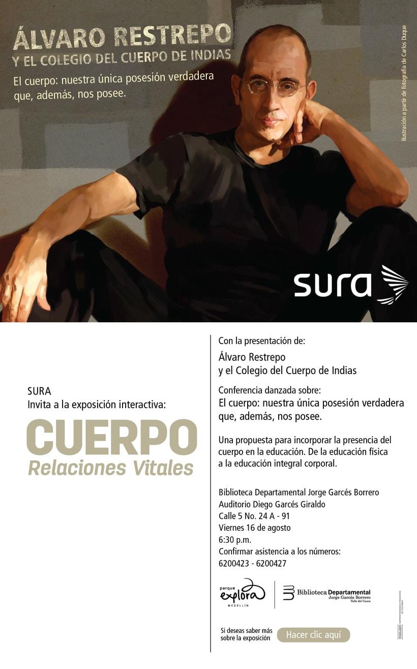 Exposición CUERPO - Explora Sura 7