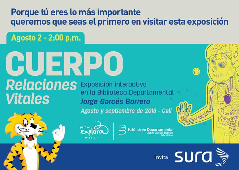 Exposición CUERPO - Explora Sura 4