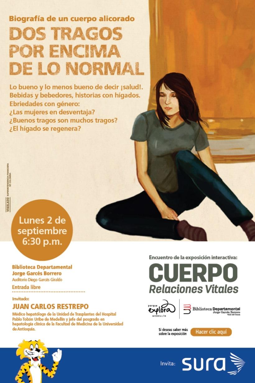 Exposición CUERPO - Explora Sura 8