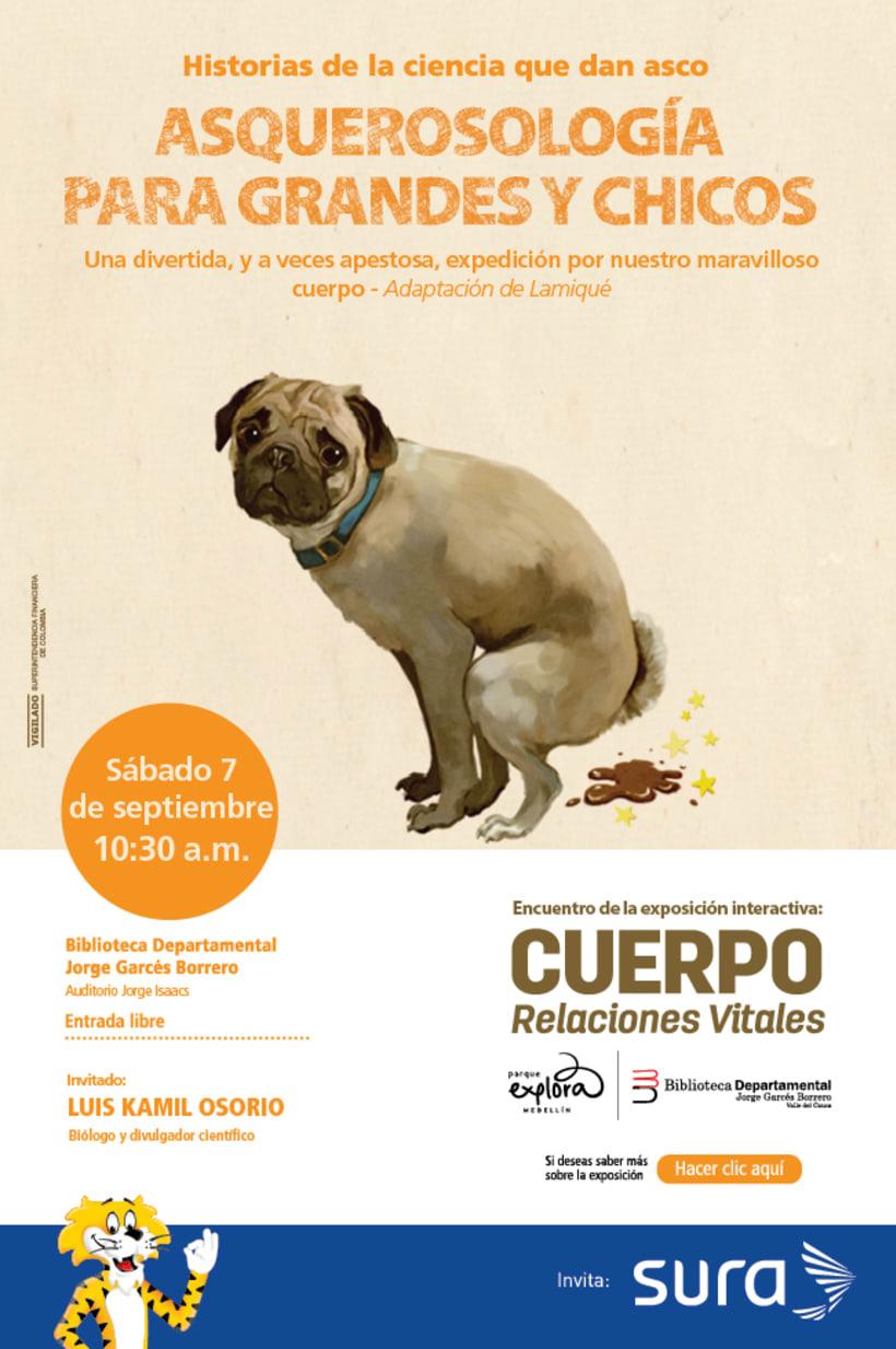 Exposición CUERPO - Explora Sura 9