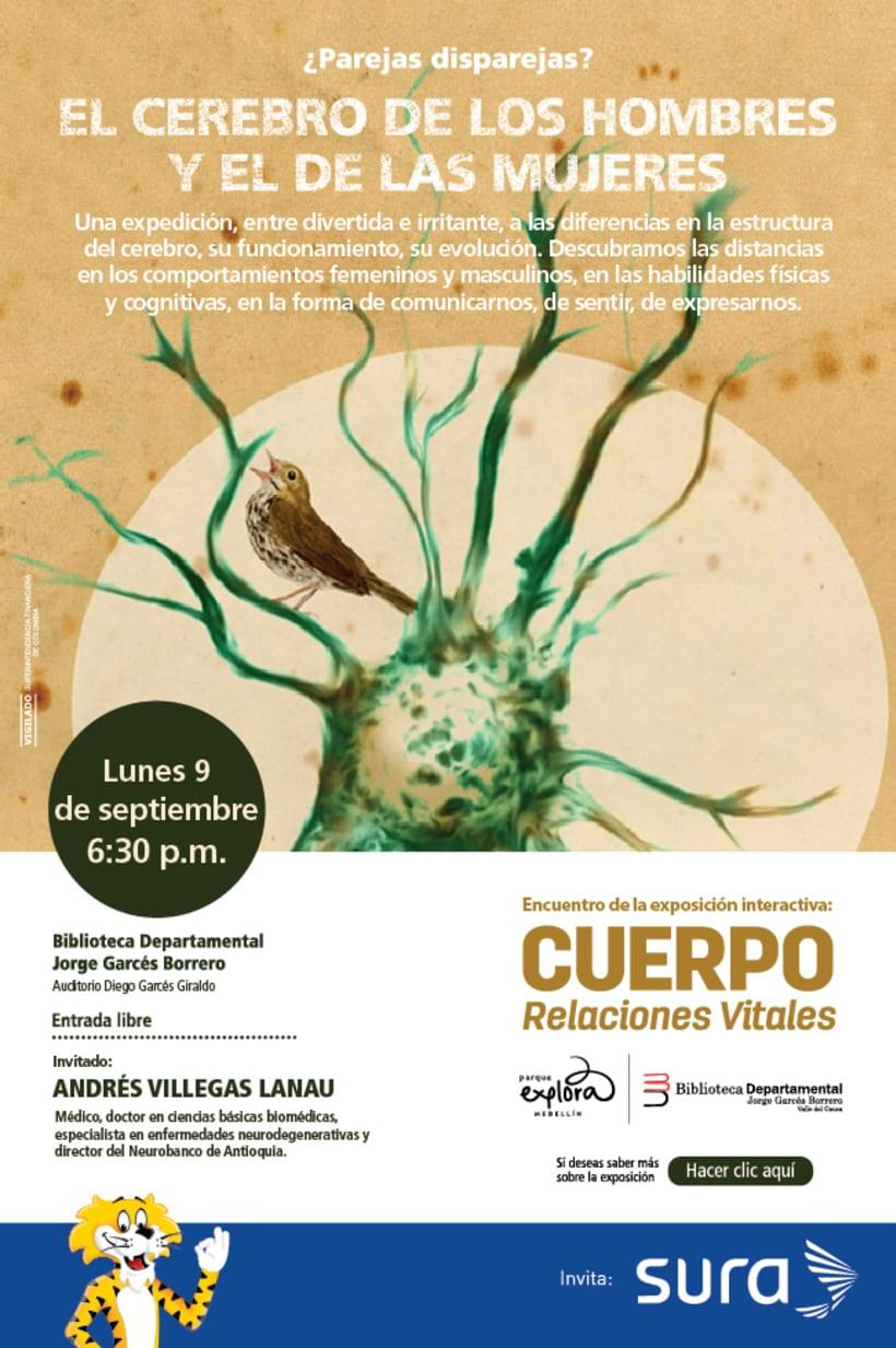 Exposición CUERPO - Explora Sura 10