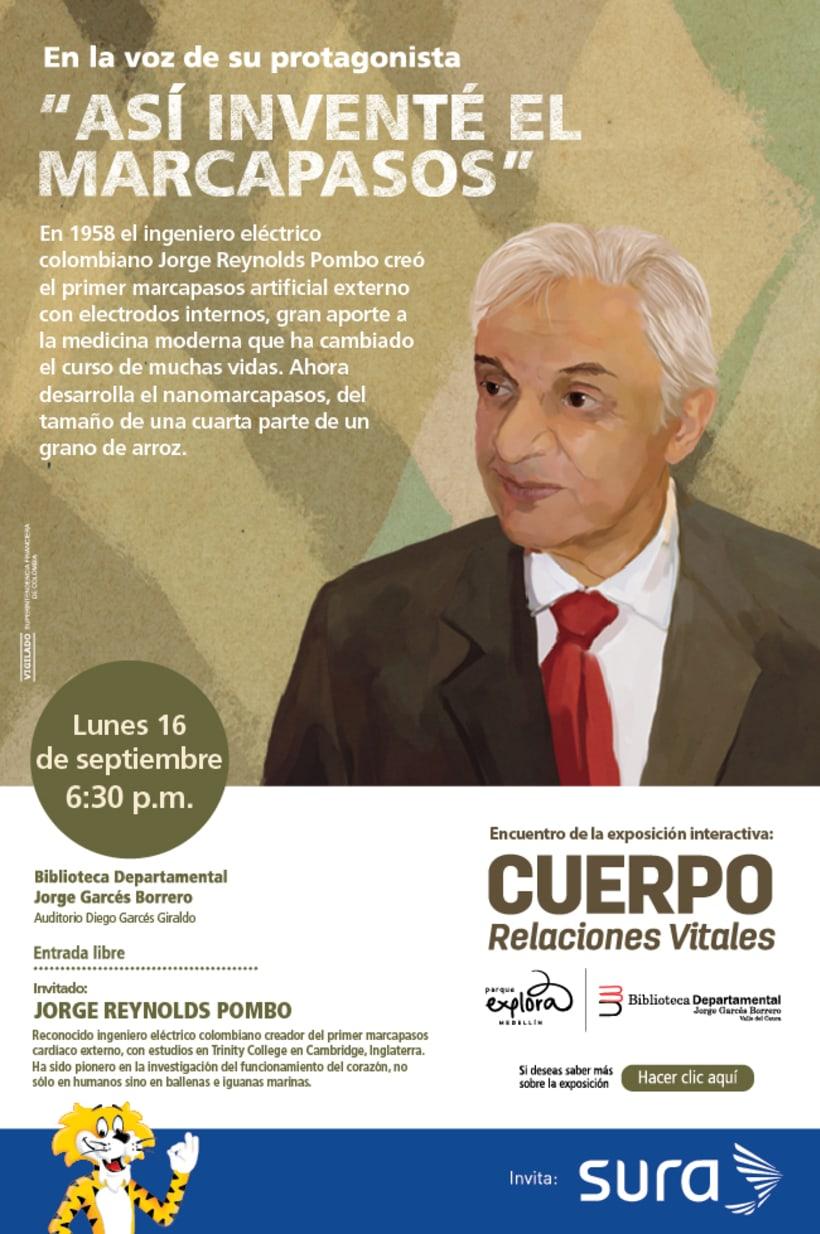 Exposición CUERPO - Explora Sura 11
