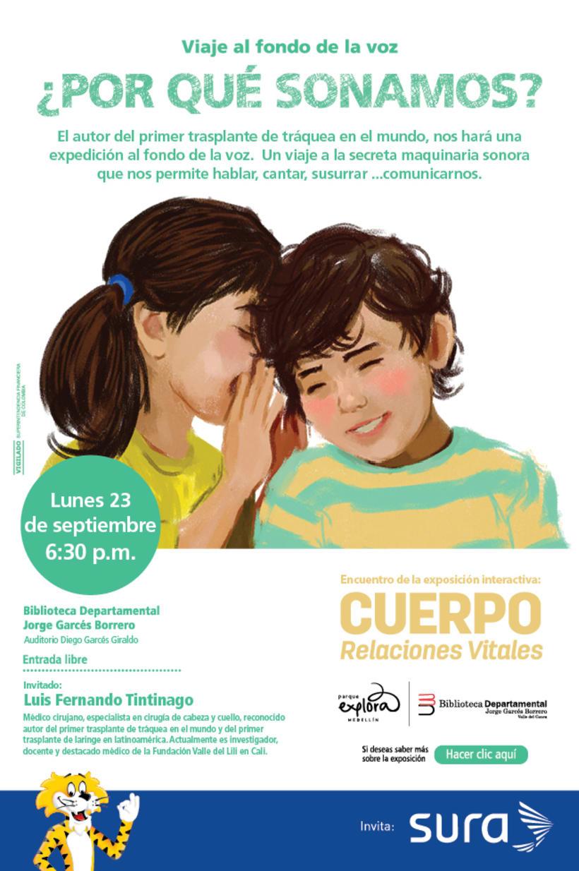 Exposición CUERPO - Explora Sura 12