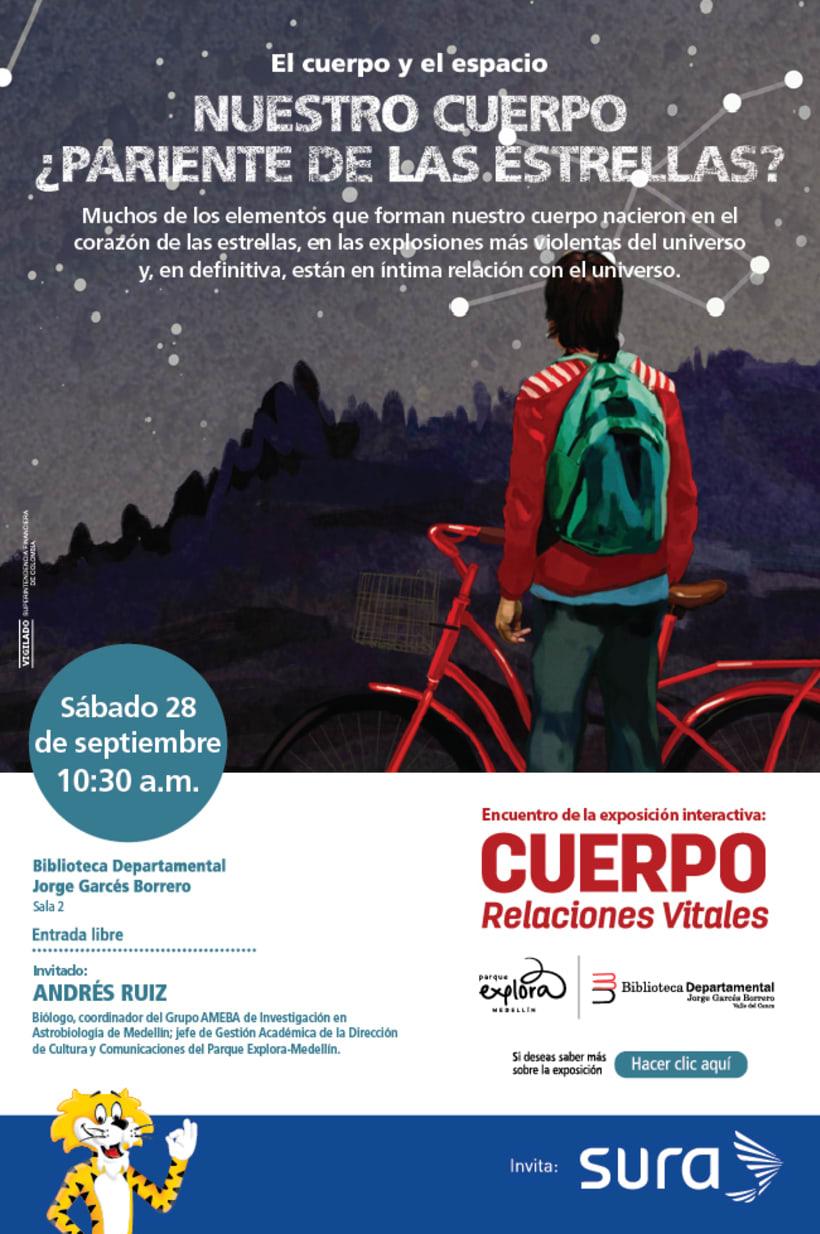 Exposición CUERPO - Explora Sura 13