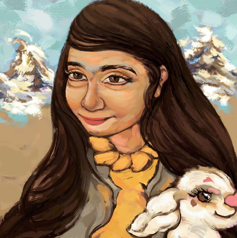 María y su libro amarillo (illustrated book)  5