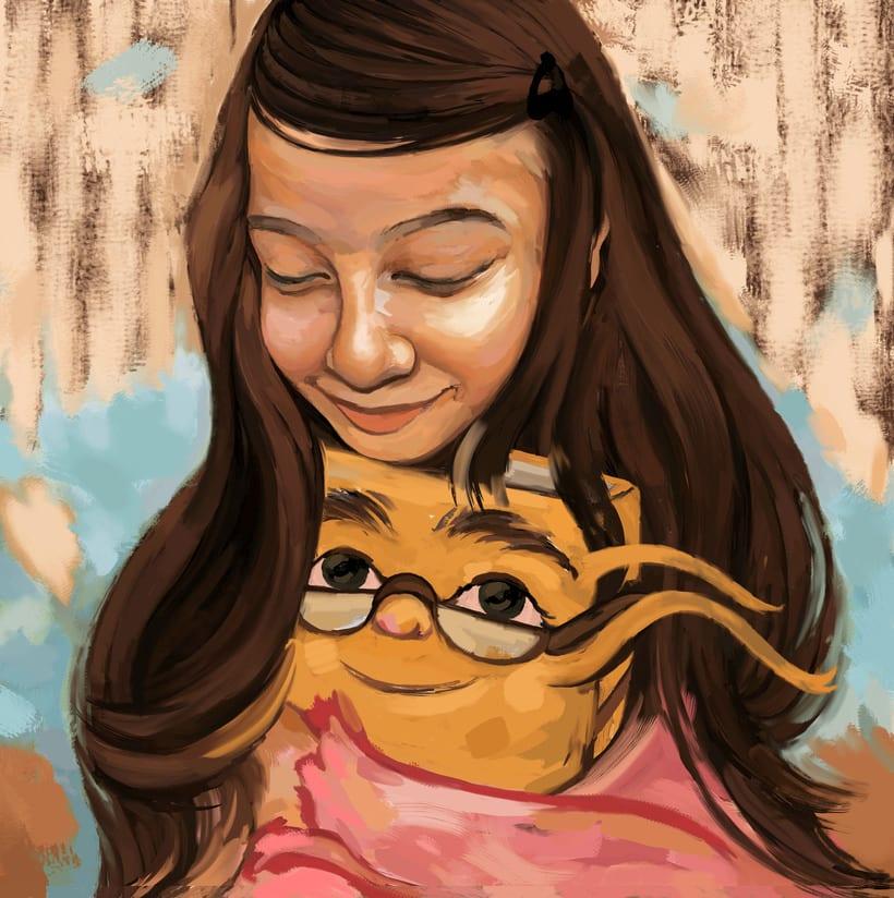 María y su libro amarillo (illustrated book)  3