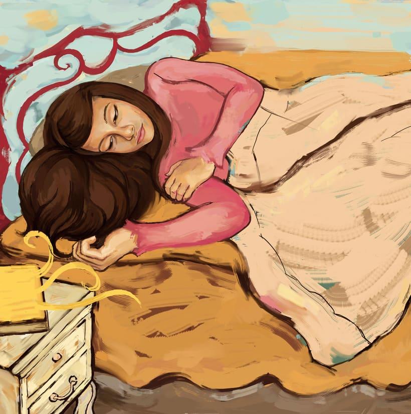 María y su libro amarillo (illustrated book)  4