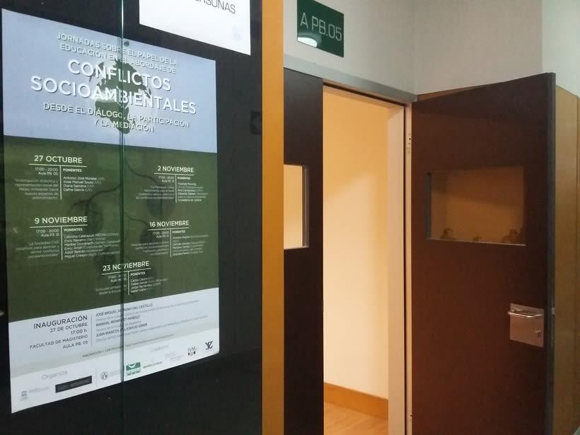 """JORNADAS """"PAPEL DE LA EDUCACIÓN EN EL ABORDAJE DE CONFLICTOS SOCIOAMBIENTALES"""" 2"""