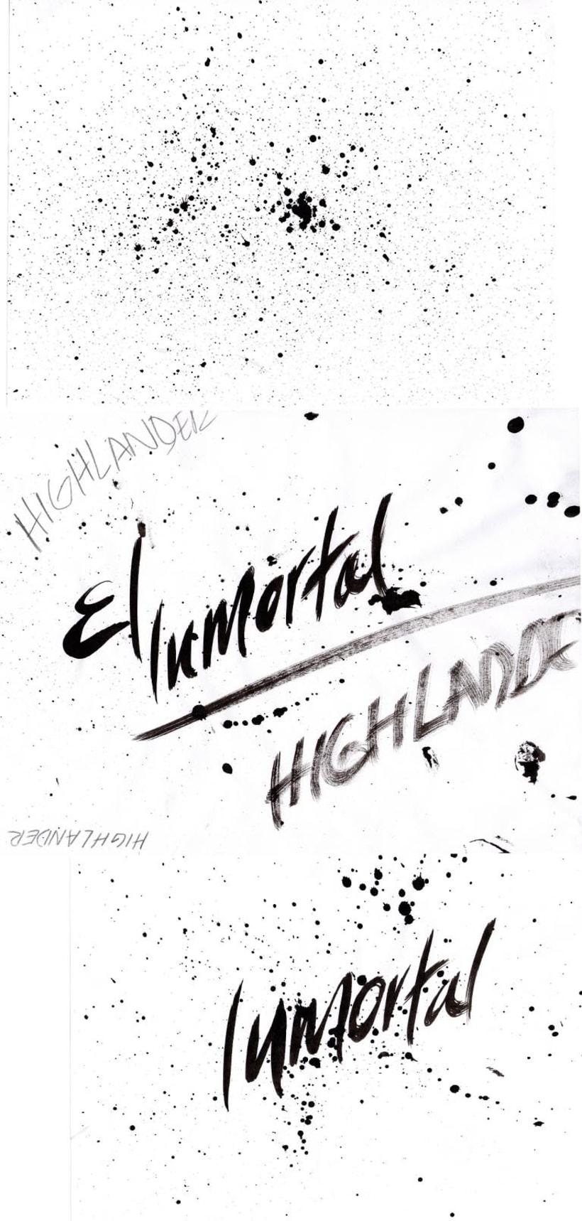 HIGHLANDER: EL INMORTAL... del dibujo a lápiz a la ilustración digital 2