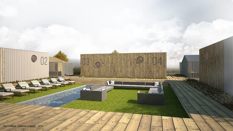 'Surf Cottage' by Sistema Modulab -1
