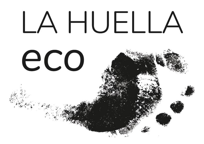 Identidad visual de granja ecológica La Huella eco 1