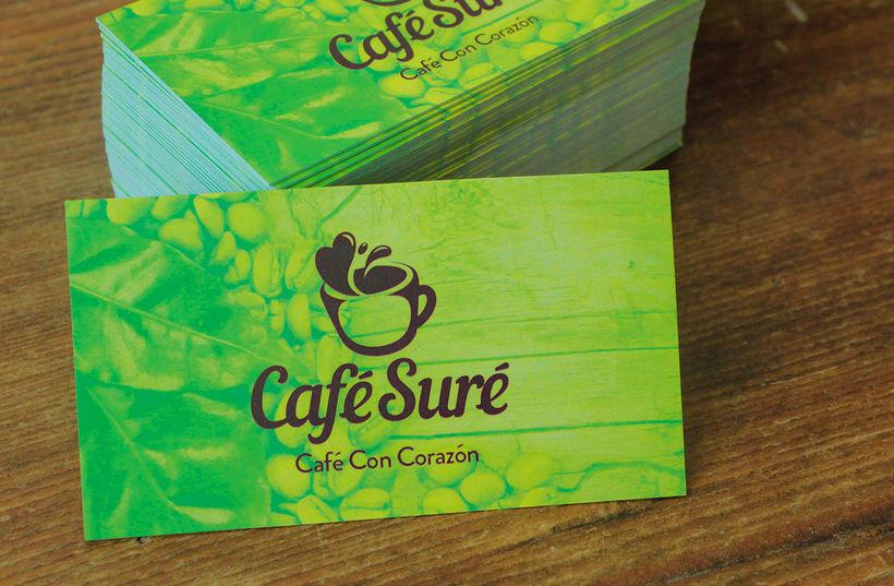 Diseño de Logo para Café Orgánico (Handmade Branding) 3