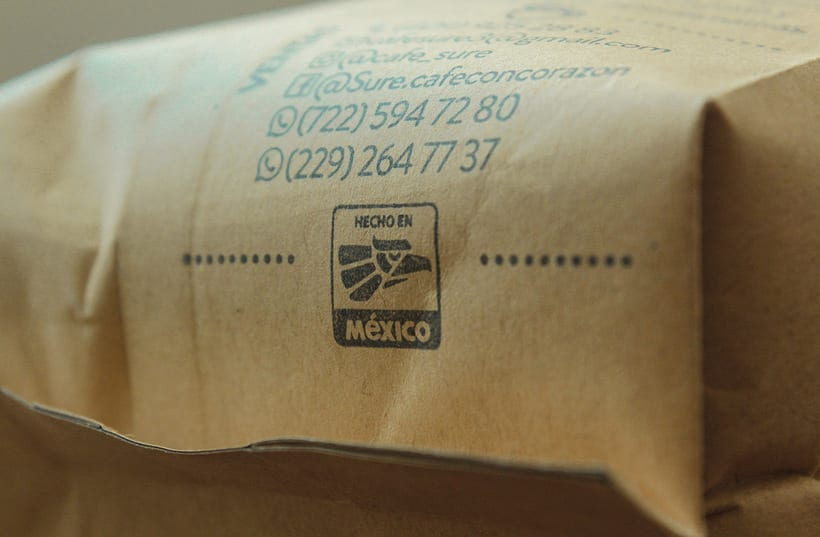 Diseño de Logo para Café Orgánico (Handmade Branding) 4