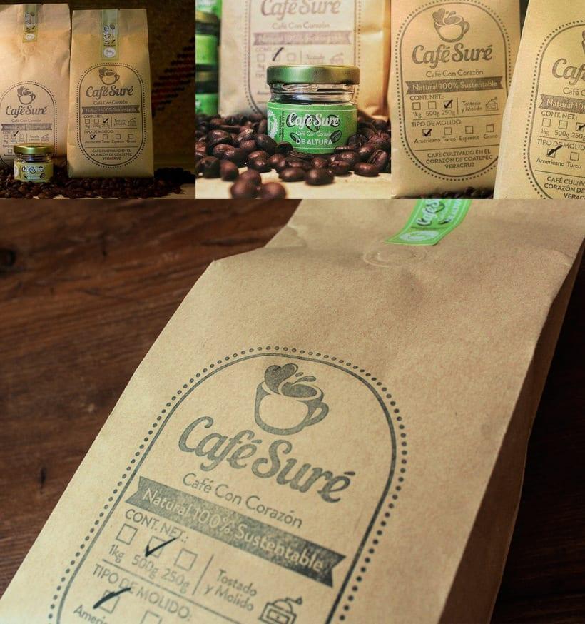 Diseño de Logo para Café Orgánico (Handmade Branding) 5